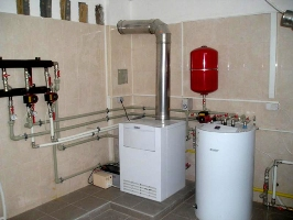 Отопление в частном доме в области